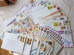 Lot De 72 Lettre Senegal   1985 1986 - Stamps