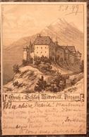 RARE+++AUTRICHE.MITTERSILL.SCHLOSS.PINZGAU.PRECURSEUR 1899.TRES BELLE CARTE ! - Mittersill