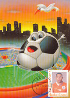 D33354 CARTE MAXIMUM CARD RR 2014 NETHERLANDS - HEDEWIGES MADURO SOCCER WORLD CHAMPIONSHIP BRASIL CP ORIGINAL - World Cup