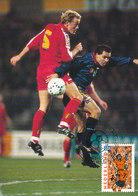 D33356 CARTE MAXIMUM CARD 2000 NETHERLANDS - EURO 2000 SOCCER EUROPEAN CHAMPIONSHIP CP ORIGINAL - UEFA European Championship