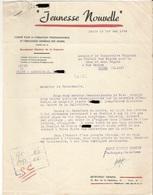 Document Vichy Secrétariat à La Jeunesse . Jeunesse Nouvelle .  PARIS - ROUEN 1942 - Documenti Storici
