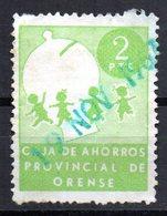 Viñeta Caja De Ahorros Provincial De Orense. - España