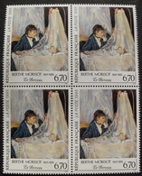 LOT 1558 - 1995 - BERTHE MORISOT - BLOC DE 4 TIMBRES NEUFS** - N°2972 - Cote : 12,00 € - France