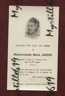 Faire-part De Décès - (1971) Memento - Mademoiselle Marie Jardin - Avvisi Di Necrologio
