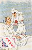 D33366 CARTE MAXIMUM CARD TRIPLE 1980 ITALY - RED CROSS CP ORIGINAL - Red Cross