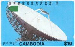 CAMBODIA A-016 Optical OTC - Communication, Satellite Dish - Used - Cambodia