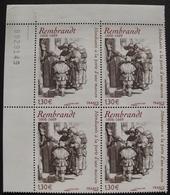 LOT 1574 - 2006 - REMBRANDT - BLOC DE 4 TIMBRES NEUFS** - N°3984 - CdF - Cote : 16,00 € - Unused Stamps