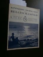 Touring Club Belgisch Congo 9 (30/11/1954) : Kiubo, Vista, Noord-Afrika, R Ravon - Tijdschriften
