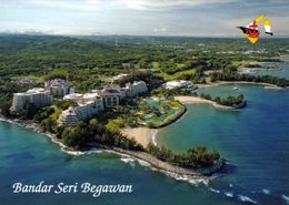 1 AK Brunei * Ansicht Der Hauptstadt Bandar Seri Begawan - Luftbildaufnahme * - Brunei