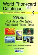 NEW ZEALAND COOK ISLANDS TONGA TELEPHONE PHONECARD CATALOGUE No3 2000 VOL.1 READ DESCRIPTION !! - Phonecards