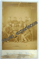 Photo Cabinet XIX Militaire Guerre War Military 1870 1871 PARIS France - Photos