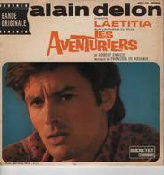Disque 45 Tours ALAIN DELON - Musique De Film - Musique De Films