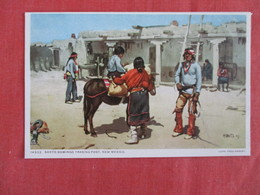 Fred Harvey--14932  Santo Domingo Trading Post  NM  Detroit Publisher  >  Ref 2925 - Indiani Dell'America Del Nord