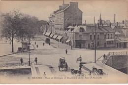 RENNES - Place De Bretagne Et Boulevard De La Tour D'Auvergne - Rennes
