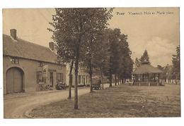 Peer Vlaamsch Huis En Markt Plein - Peer
