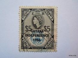 GUIANA 1966, Stamps Of British Guiana Optd GUYANA INDEPENDENCE 1966. Scott 6, Used. - Guyana (1966-...)
