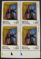 LOT 1597 - 2008 - GERARD GAROUSTE - BLOC DE 4 TIMBRES NEUFS** - N°4244 - BdF - Cote : 16,00 € - Unused Stamps