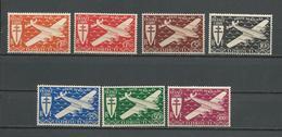 COTE DES SOMALIS Scott C1-C7 Yvert PA1-PA7 (7) **  Cote 14,50 $ 1944 - Côte Française Des Somalis (1894-1967)