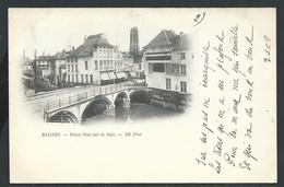 +++ CPA - MALINES  MECHELEN - Vieux Pont Sur La Dyle - 1898    // - Malines