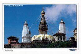 1 AK Nepal * Tempel Swayambhunath In Kathmandu Eine Der ältesten Buddhistischen Tempel Seit 1979 UNESCO Weltkulturerbe - Nepal