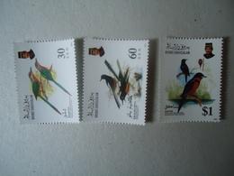 BRUNEI MNH STAMPS  BIRD BIRDS - Brunei (1984-...)