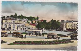 Cpa,laval ,mayenne ,gare Des Tul, Promenade De Changé,car D' époque ,belle Gare,53 - Laval