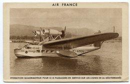 RC 8506 AIR FRANCE HYDRAVION VILLE DE TUNIS LIGNES DE LA MÉDITERRANÉE - 1946-....: Ere Moderne