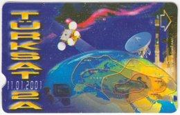 TURKEY B-377 Magnetic Telekom - Communication, Satellite Dish - Used - Turkey