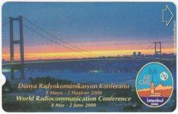 TURKEY B-380 Magnetic Telekom - View, Bridge - Used - Turkey