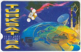 TURKEY B-391 Magnetic Telekom - Communication, Satellite Dish - Used - Turkey