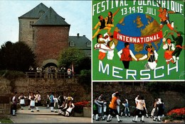 ! Mersch Luxemburg, Luxembourg, Festival Folklorique, Trachten - Ansichtskarten