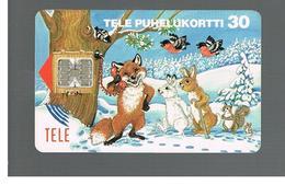 FINLANDIA (FINLAND) -  1993  WINTER ANIMALS                                                  - USED - RIF. 10807 - Finland