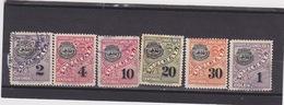Officials Mint/used Scott O75,76,77,79,82,84, MI. D58,59,60,62,78,80, Yv.Serv.60,61,62,64,67,69    054 - Costa Rica