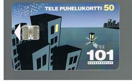 FINLANDIA (FINLAND) -  1993  TRUNK CALLS 101                                                  - USED - RIF. 10807 - Finlandia