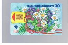 FINLANDIA (FINLAND) -  1994 BOUQUET FLOWERS                                             - USED - RIF. 10807 - Finlandia