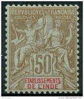 Inde (1900) N 19 * (charniere) - Unused Stamps