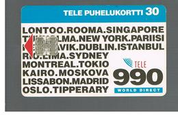 FINLANDIA (FINLAND) -  1994  WORLD DIRECT 990                                    - USED - RIF. 10808 - Finlandia