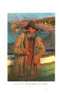 Am Strande (nach Einem Gemälde Von H.Hellhoff) / Druck, Entnommen Aus Kalender / 1907 - Books, Magazines, Comics