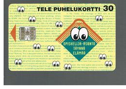 FINLANDIA (FINLAND) -  1995  EYES                      - USED - RIF. 10808 - Finlandia