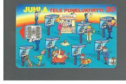 FINLANDIA (FINLAND) -  1995  CELEBRATION CARD                  - USED - RIF. 10808 - Finlandia