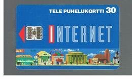 FINLANDIA (FINLAND) -  1995  INTERNET                - USED - RIF. 10809 - Finlandia