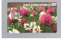 FINLANDIA (FINLAND) -  1995  FLOWERS: CLOVERS       - USED - RIF. 10809 - Finlandia