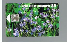 FINLANDIA (FINLAND) -  1995  FLOWERS: SPREDING BELLFLOWERS       - USED - RIF. 10809 - Finlandia