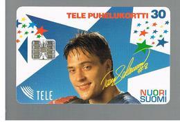 FINLANDIA (FINLAND) -  1995   NUORI SUOMI, TEEMU SELANNE       - USED - RIF. 10810 - Finlandia