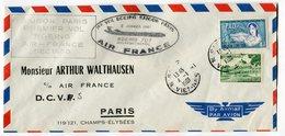 RC 8510 AIR FRANCE 1er VOL SAIGON PARIS BOEING 707 EN 1961 - Viêt-Nam
