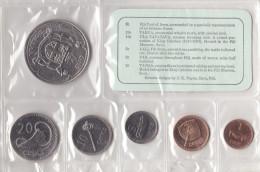 Fiji Set 6 Coins 1969 - Fiji