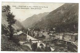 FONTAN - Vallée De La Roya - Usine Electrique - Vue Générale - Circulée 1917 - Bon état - France