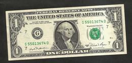 U.S.A. - United States Of America - 1 DOLLAR  - ( SERIES 1981 ) - Bilglietti Della Riserva Federale (1928-...)
