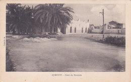 Cote Française Des Somalis Djibouti Cour De Mosquée éditeur Cliché G B - Djibouti