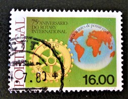 75 ANS DU ROTARY INTERNATIONAL 1980 - OBLITERE - YT 1458 - Oblitérés